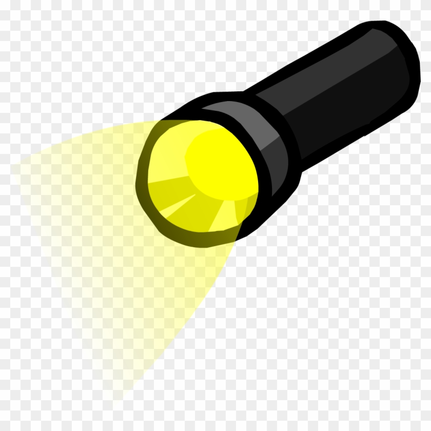 Flashlight Clipart Png, Transparent Png (#46498).