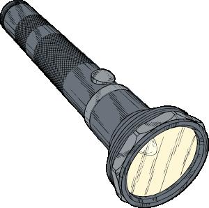 Flashlight Clip Art at Clker.com.