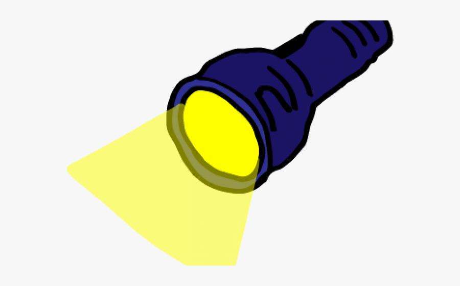 Flashlight Clipart Transparent Background.