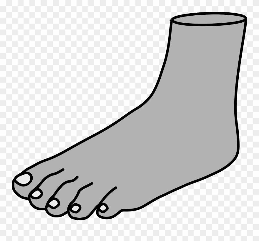 Foot Green Happy Feet Clip Art At Vector Clip Art Image.