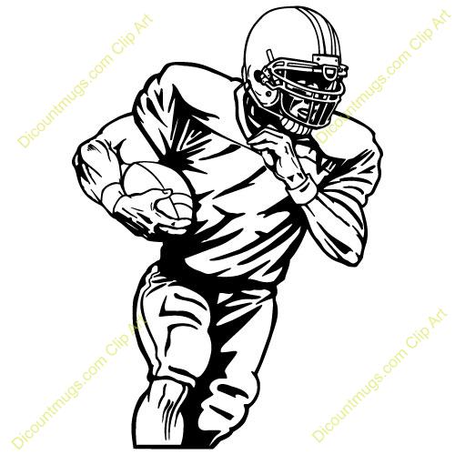 Football Player Clip Art & Football Player Clip Art Clip Art.