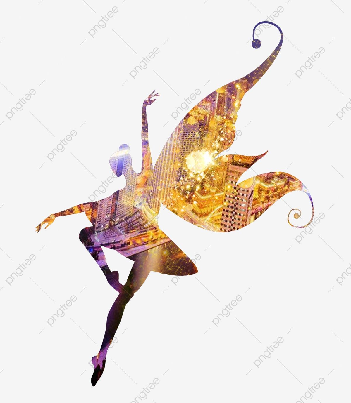 Girl Dancing Silhouette, Dancing Clipart, Girl Dancing, Dancing.