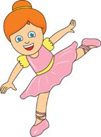 Picture of a girl dancing clipart 3 » Clipart Portal.