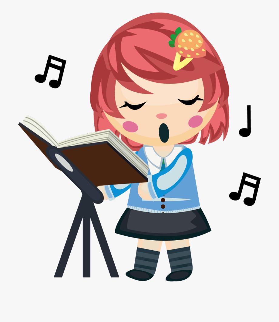 Sing Clipart Girl Singer.