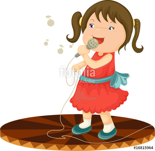 Girl singing clipart 12 » Clipart Station.