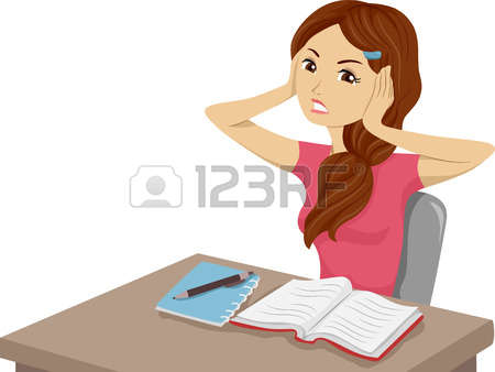 43,780 Girl Studying Stock Illustrations, Cliparts And Royalty.