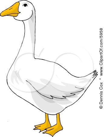goose cartoon clipart.