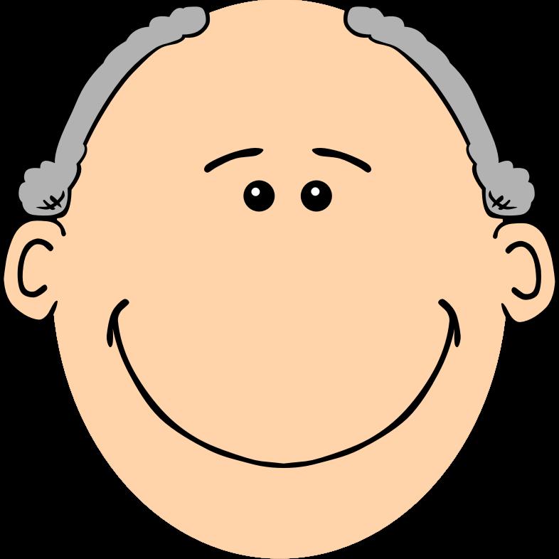 Face clipart grandpa, Face grandpa Transparent FREE for.