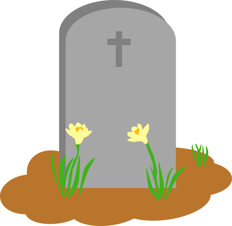 Gravestone clipart grave, Gravestone grave Transparent FREE.