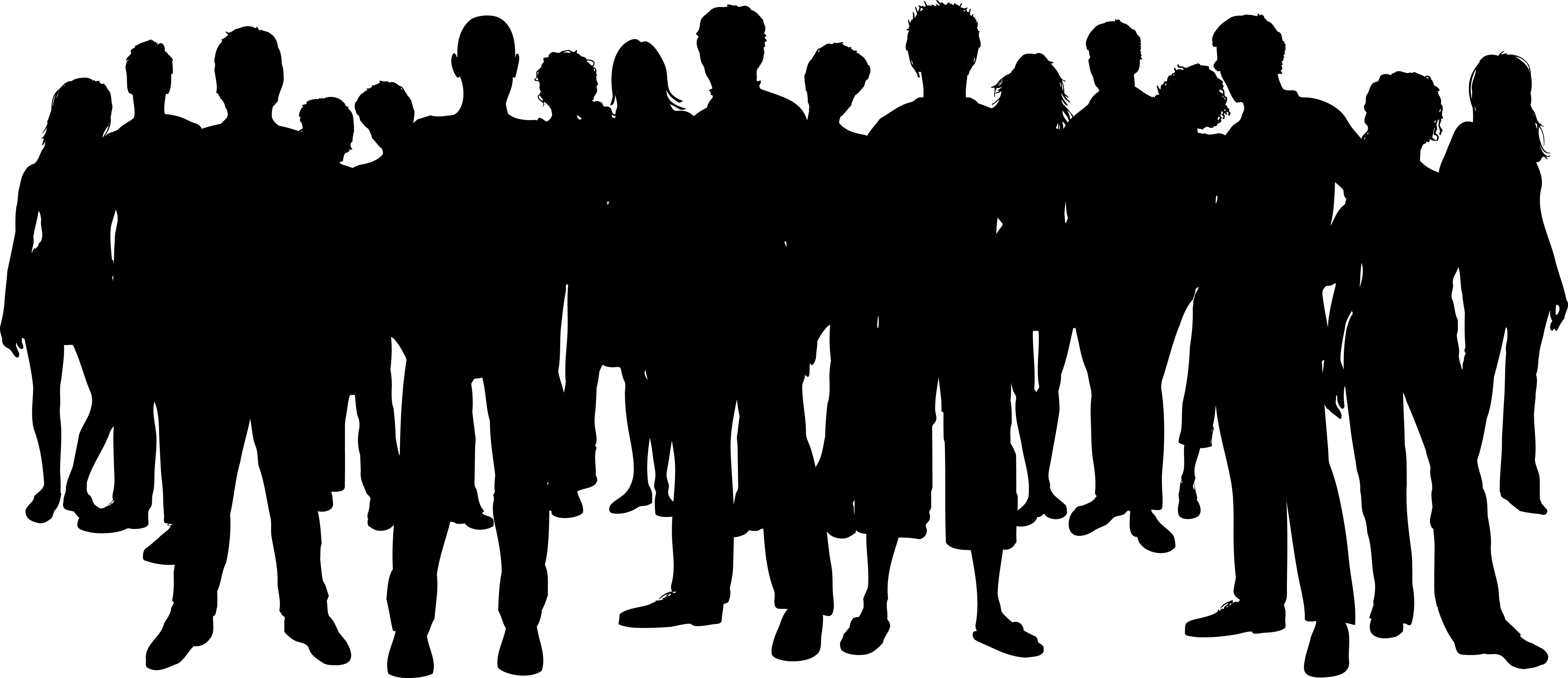Group of people clipart 7 » Clipart Station.