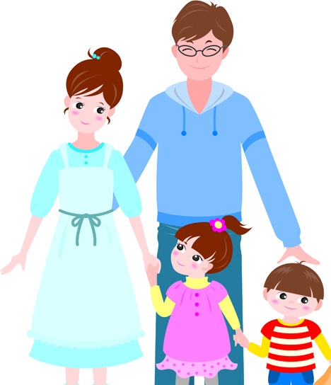 Happy family clipart free vector download (7,107 Free vector) for.