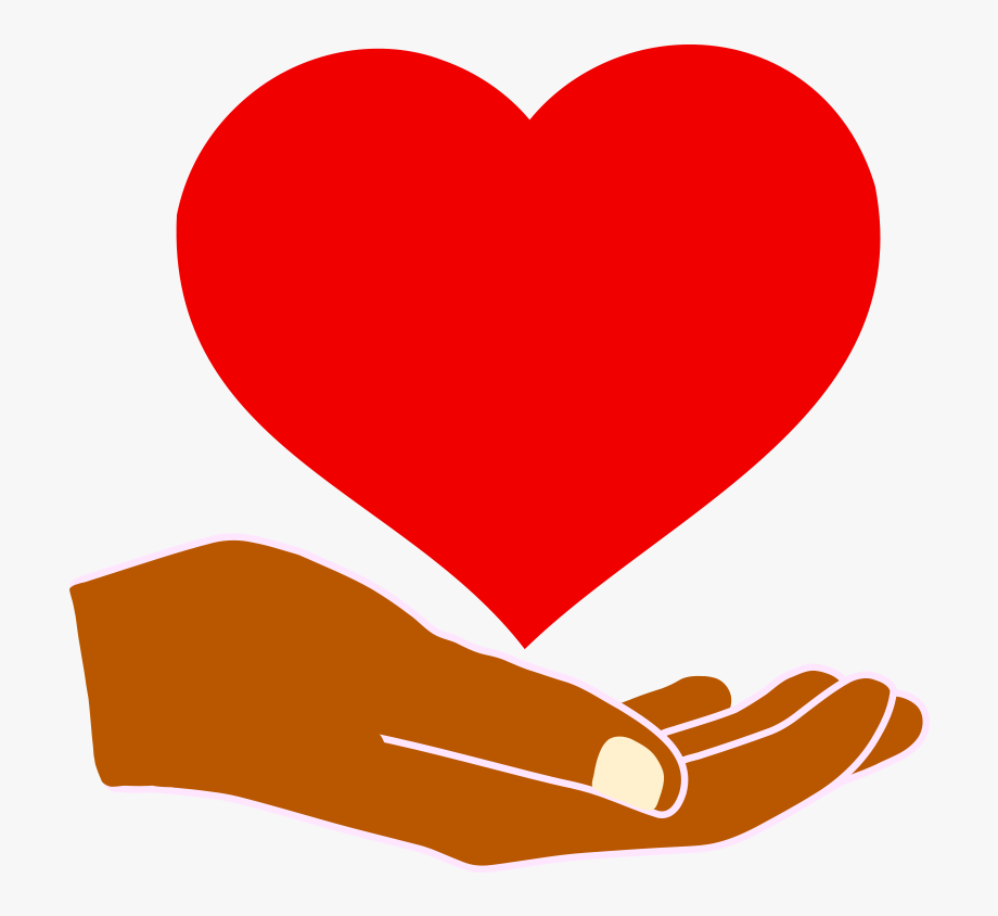 Heart In Hand Png Clipart.