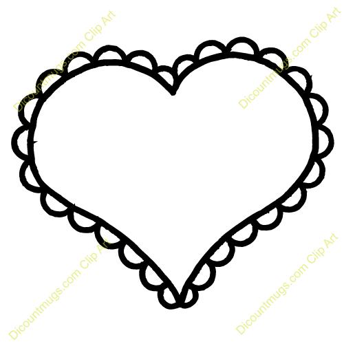 Clipart Heart Outline & Heart Outline Clip Art Images.