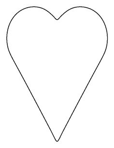 Free Printable Heart Templates.