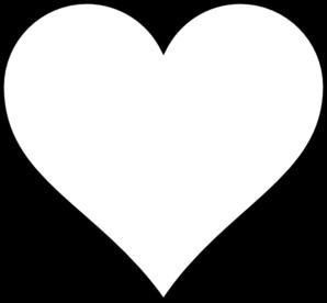 Heart Outline Clip Art at Clker.com.