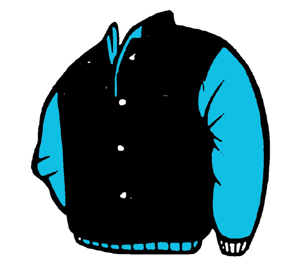 Free Clip art of Jacket Clipart #3959 Best Blue Cool Jacket.