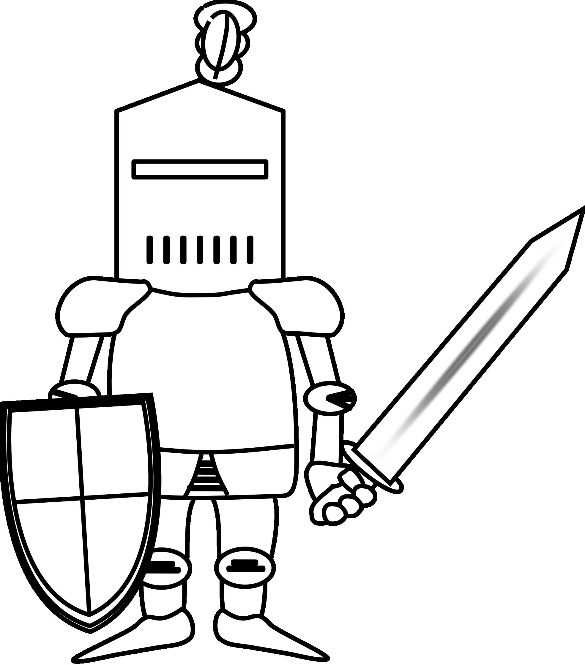Clipart knight 2.