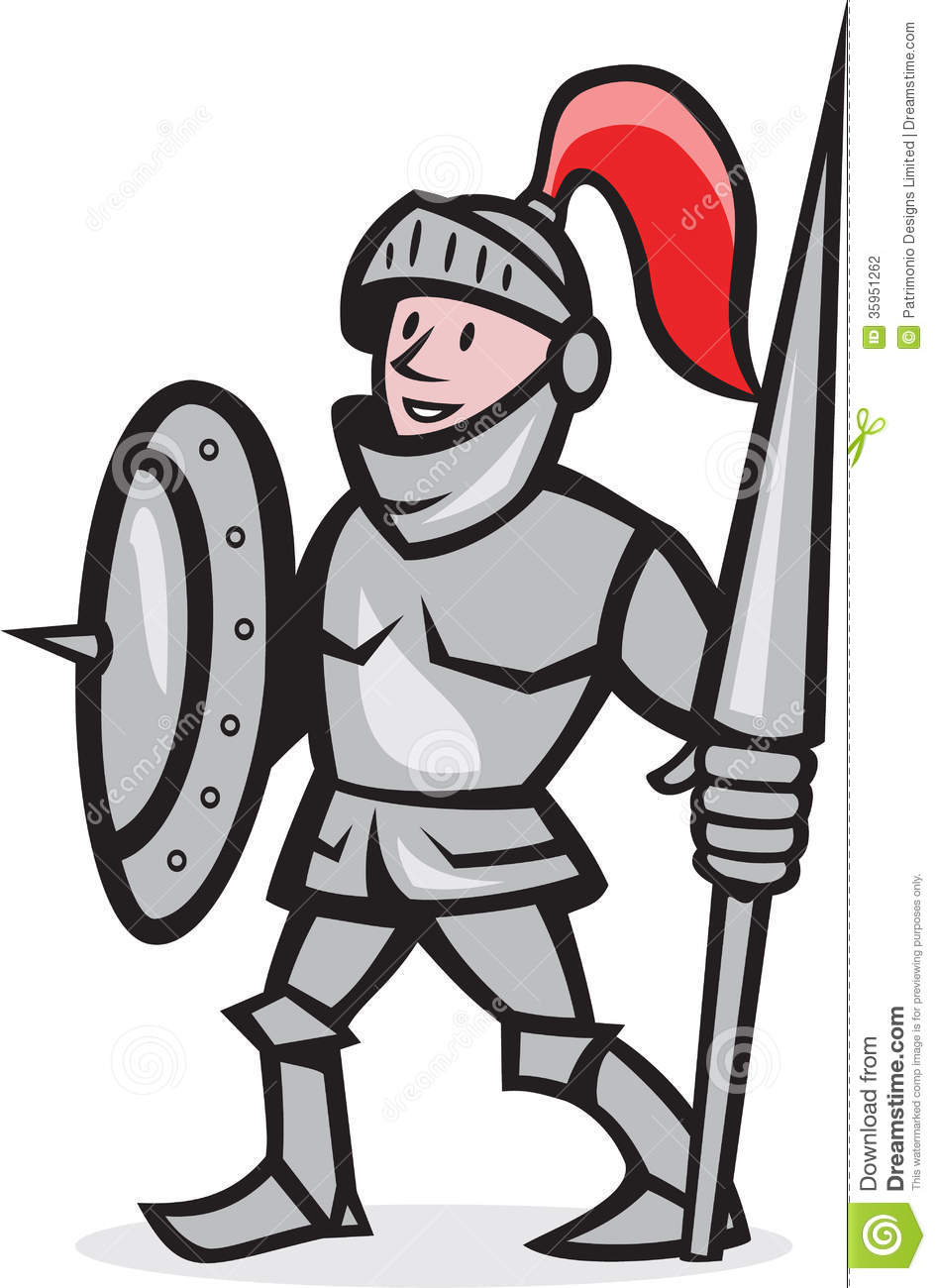 Clipart Of A Knight.