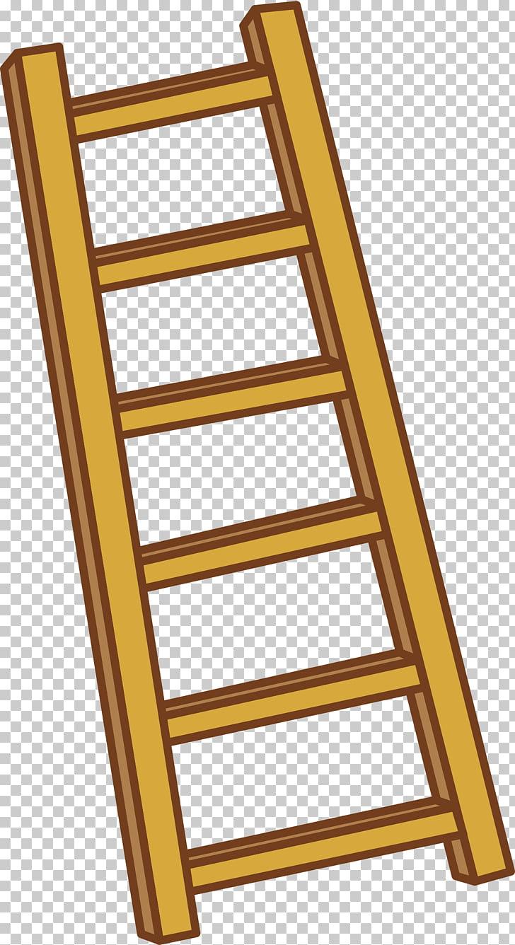 Ladder , Ladder element, brown ladder art PNG clipart.