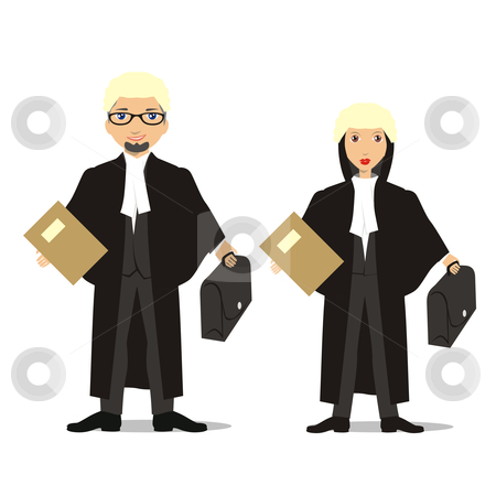 Lawyer Uniform Clipart.