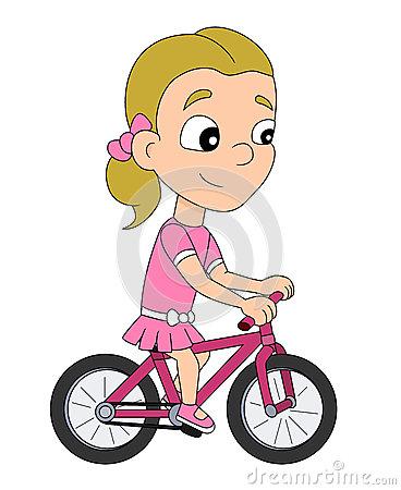 Showing post & media for Girl biking cartoon.