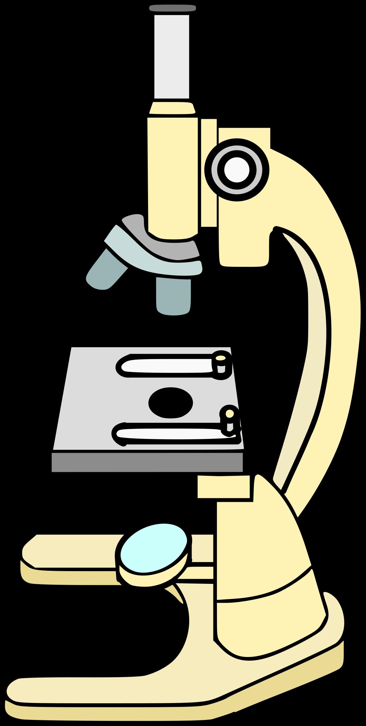 Clipart microscope.