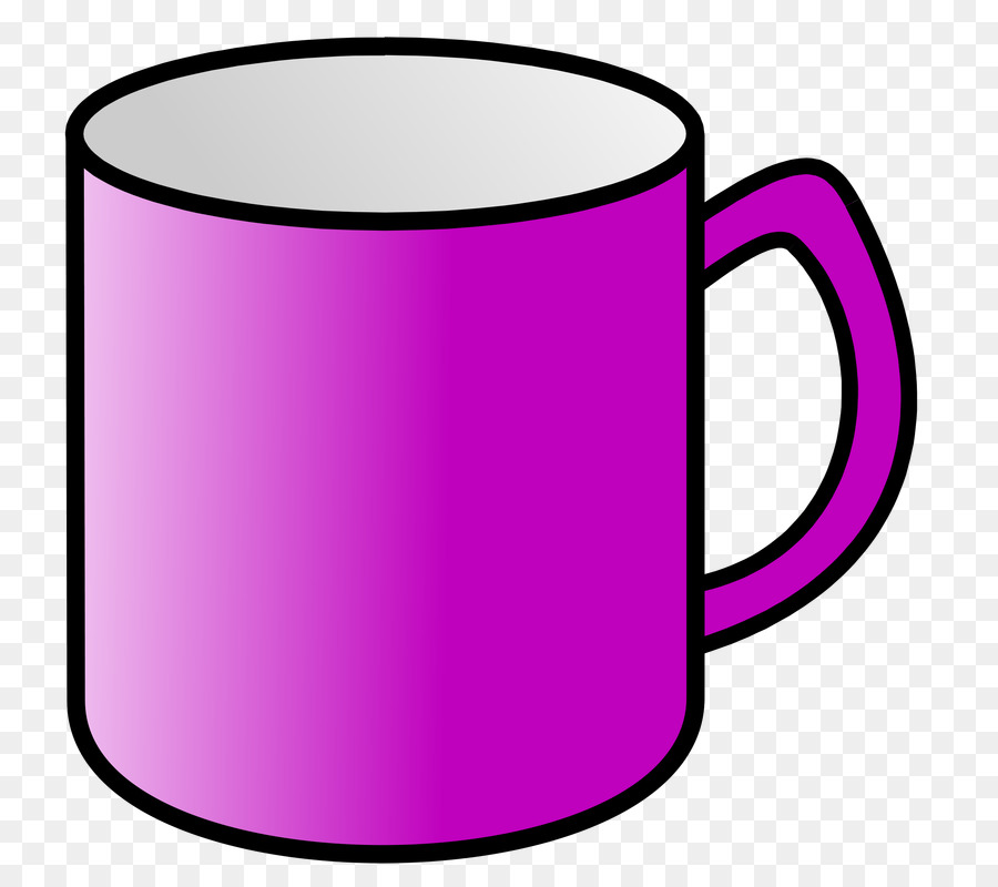 Mug clipart purple cup, Mug purple cup Transparent FREE for.