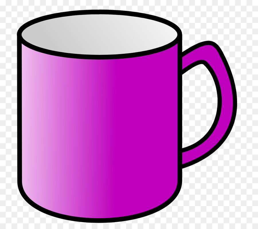 Mug clipart purple cup, Mug purple cup Transparent FREE for.