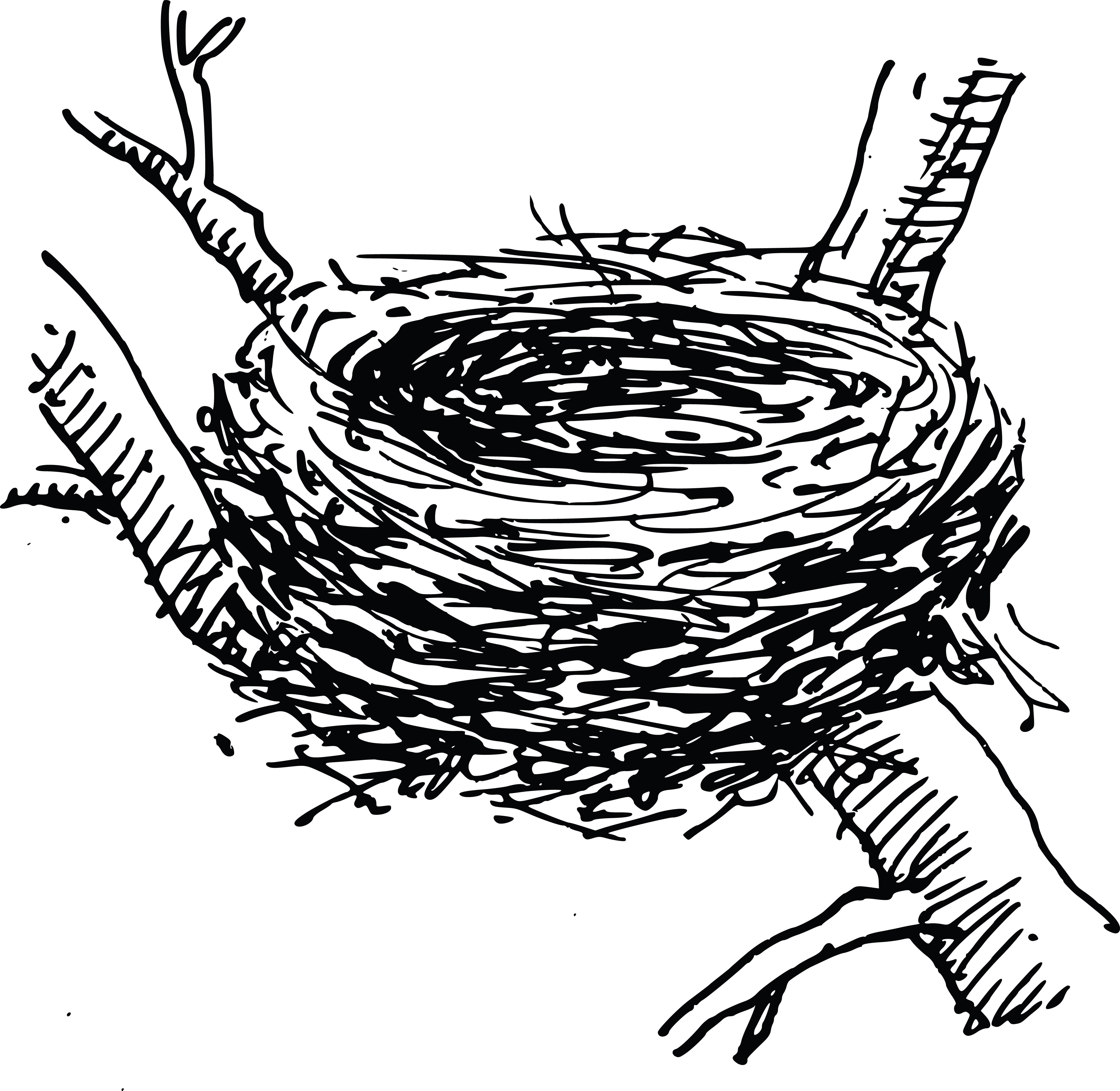 For Bird Nest Clipart Free RcLngrebi.