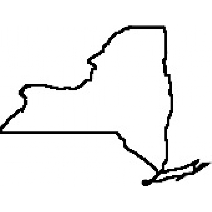 Clipart Map Of New York City.