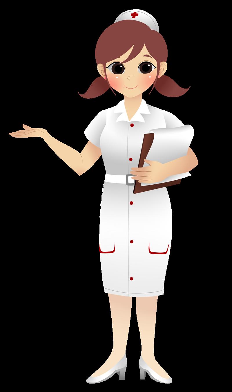 nurse illustration/clipart ….
