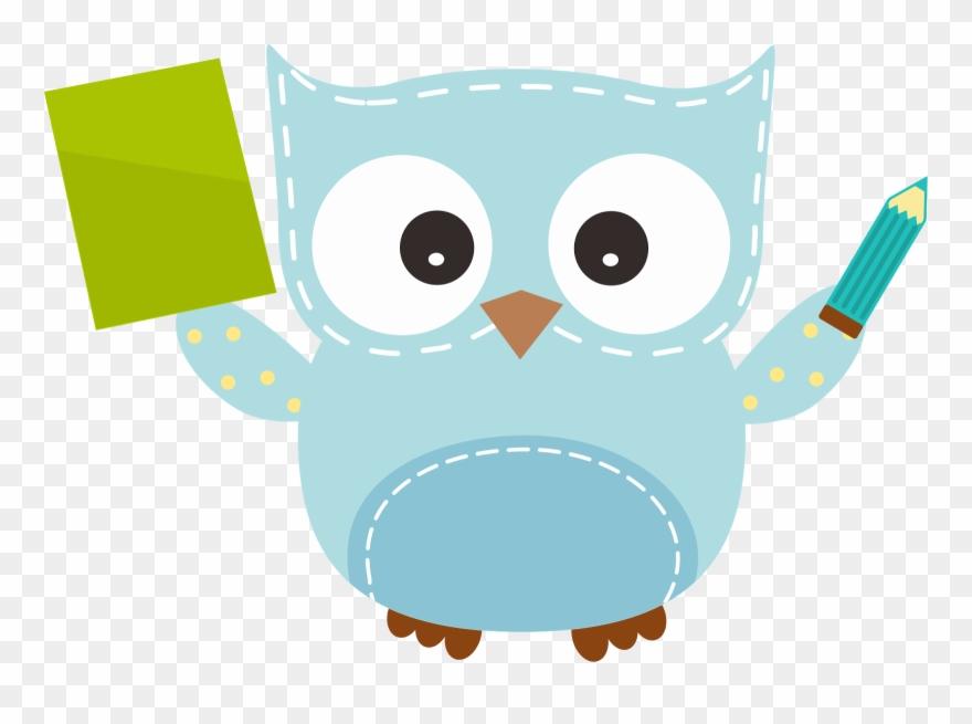 Pencil Clipart Owl.