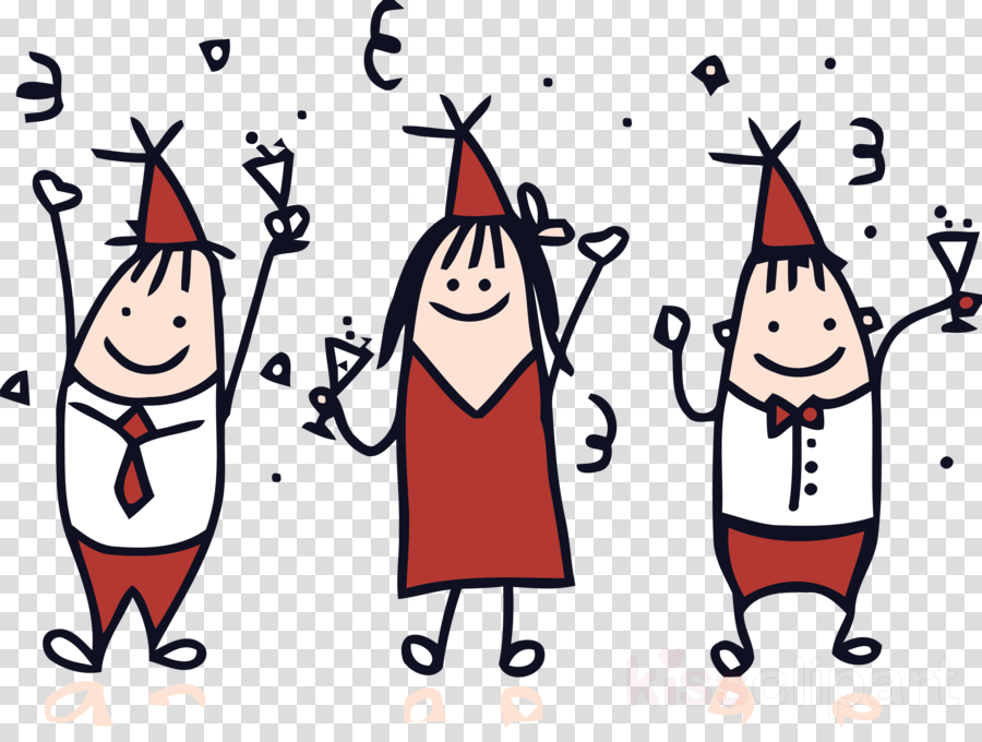 new year party party time clipart.
