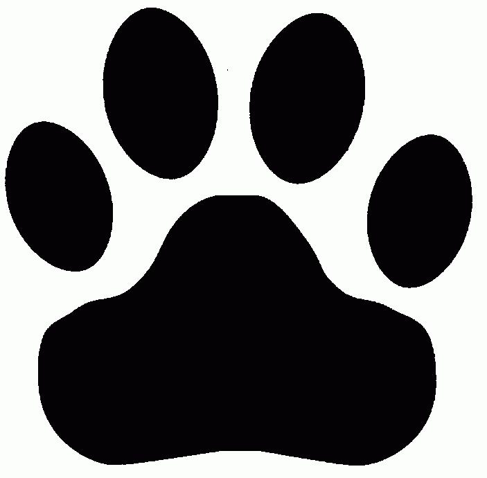 Bobcat clipart paw print, Bobcat paw print Transparent FREE.