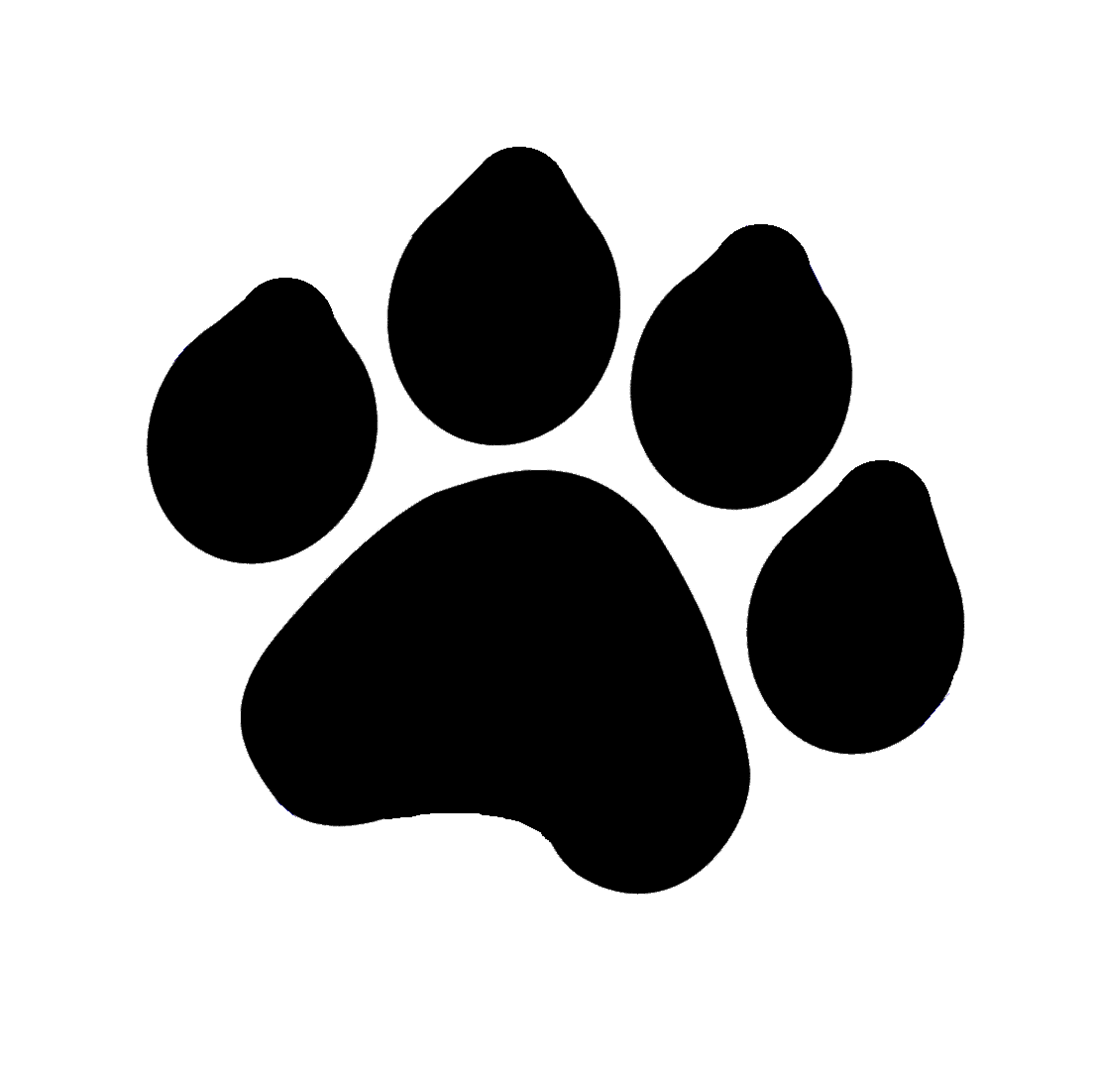 Kittens clipart paw print, Kittens paw print Transparent.