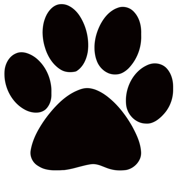 Dog Clipart Paw.