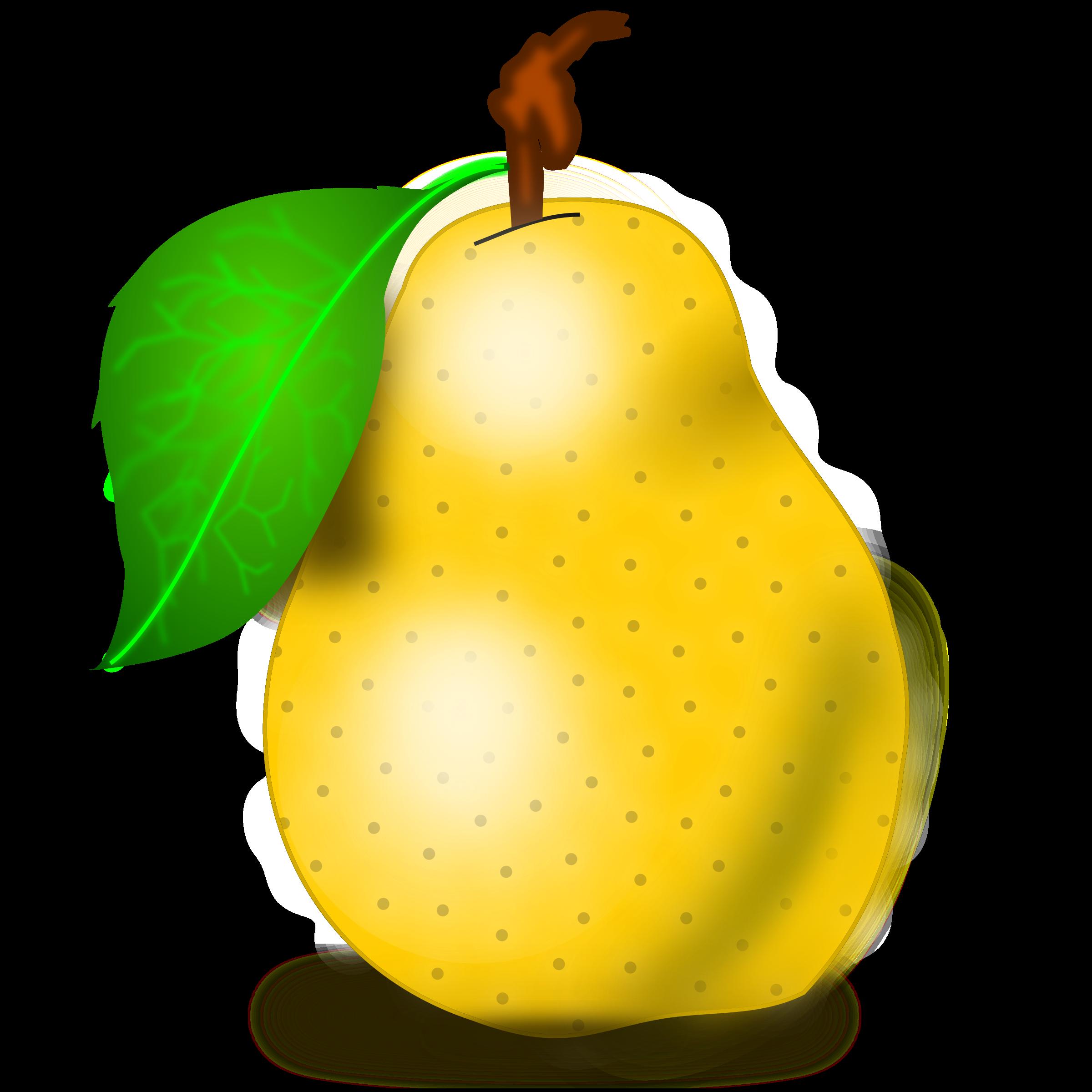783 Pear free clipart.