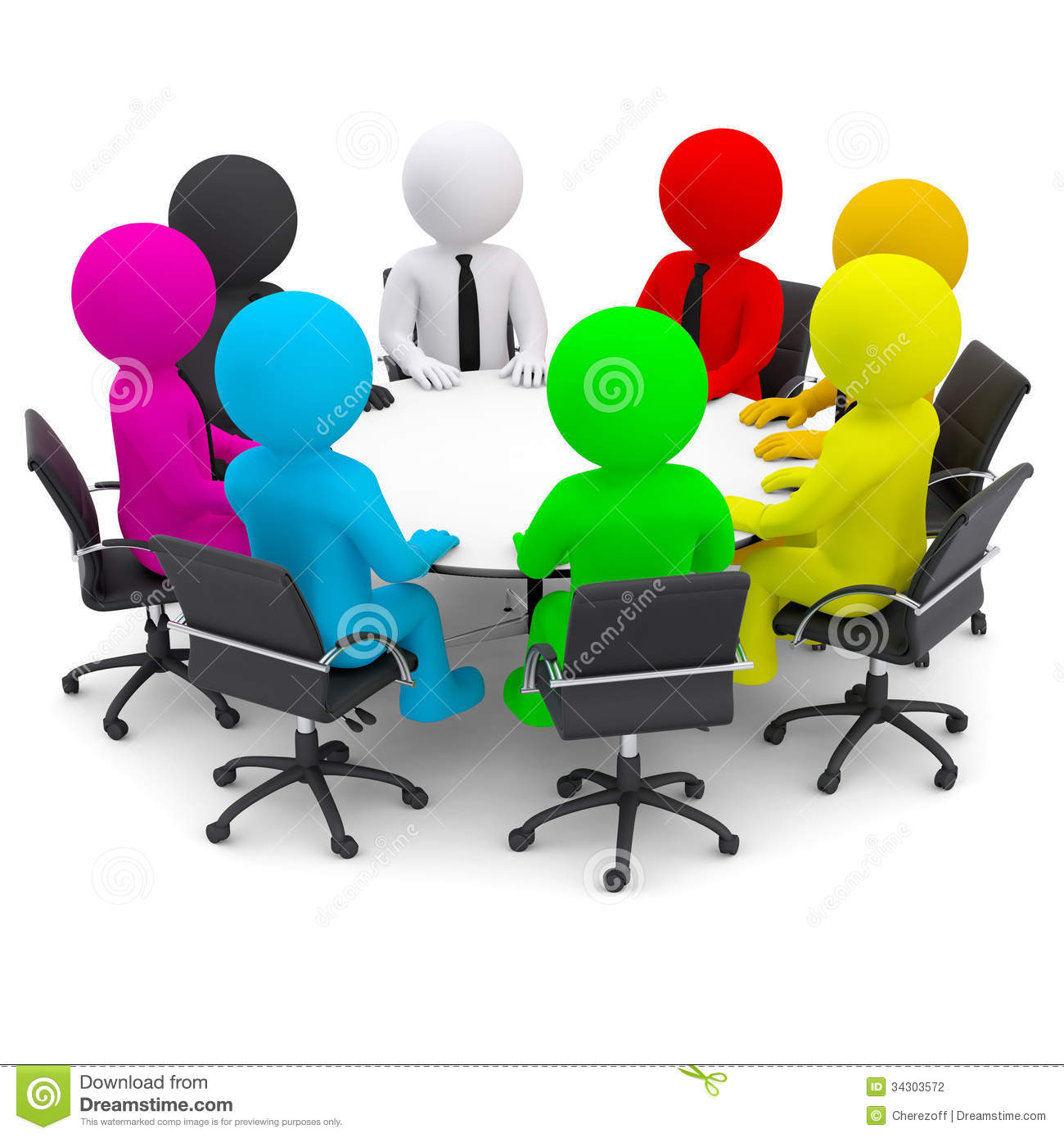 clipart of a people at a table - Clipground