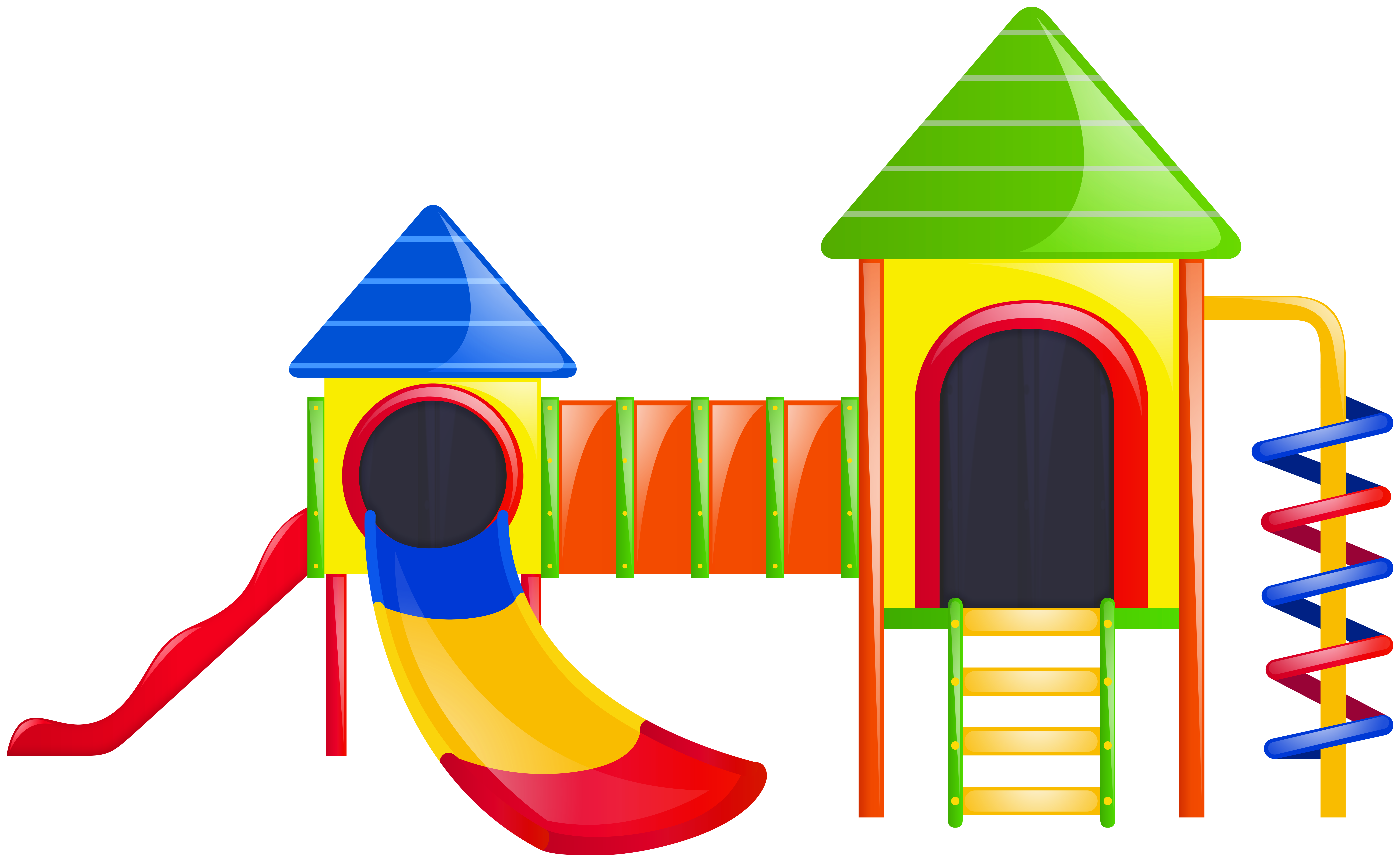 Kids Playground PNG Clip Art.