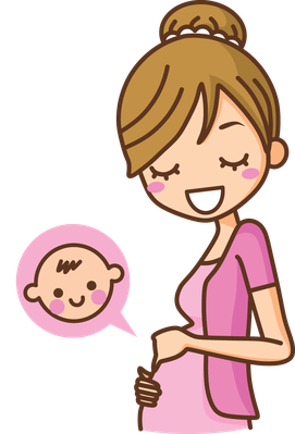 Cartoon Images Of Pregnant Women.