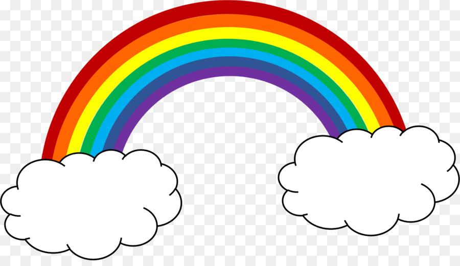 Rainbow Cartoon clipart.