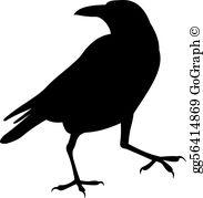 Raven Clip Art.