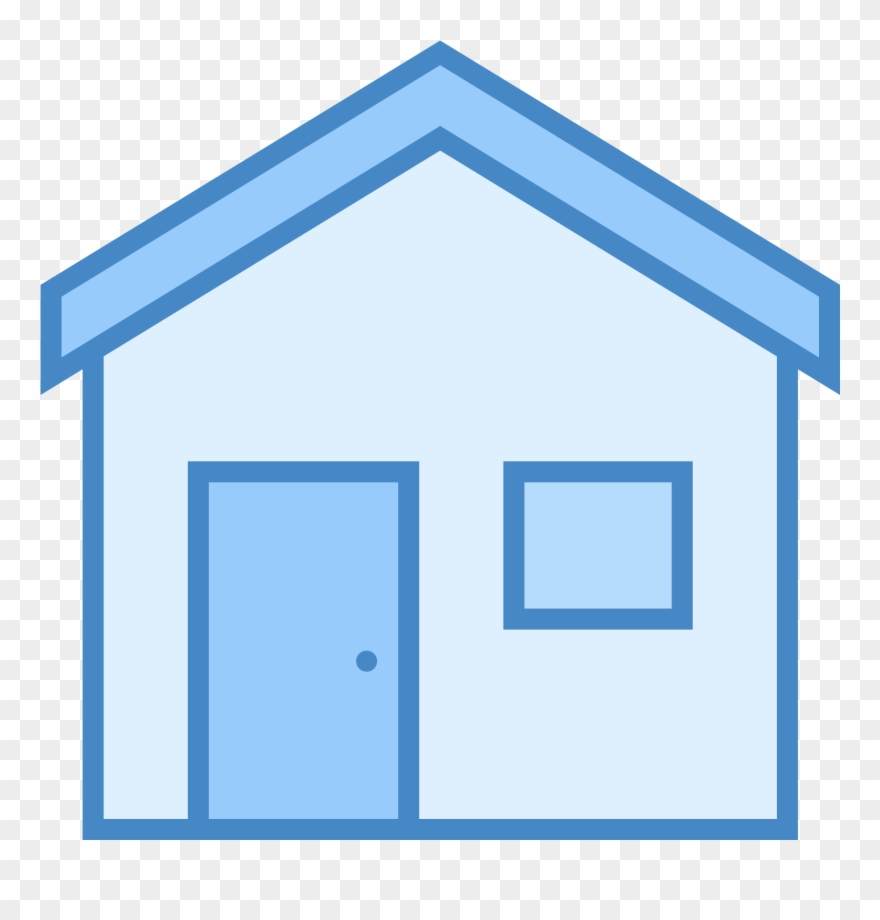 The Icon Is The Shape Of A Rectangle With The Top Line Clipart.
