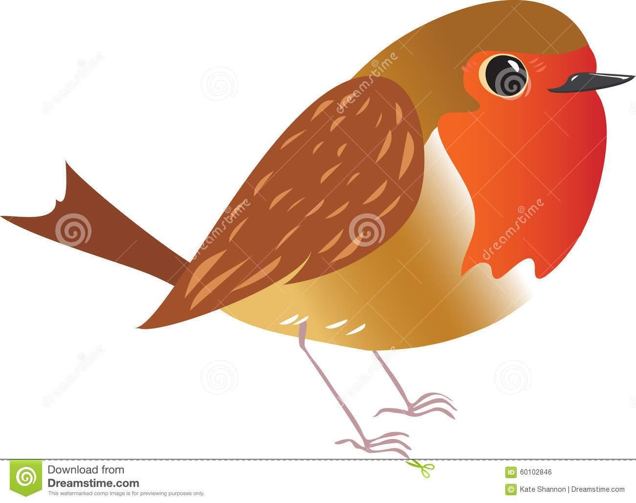 Robin red breast clipart 6 » Clipart Portal.