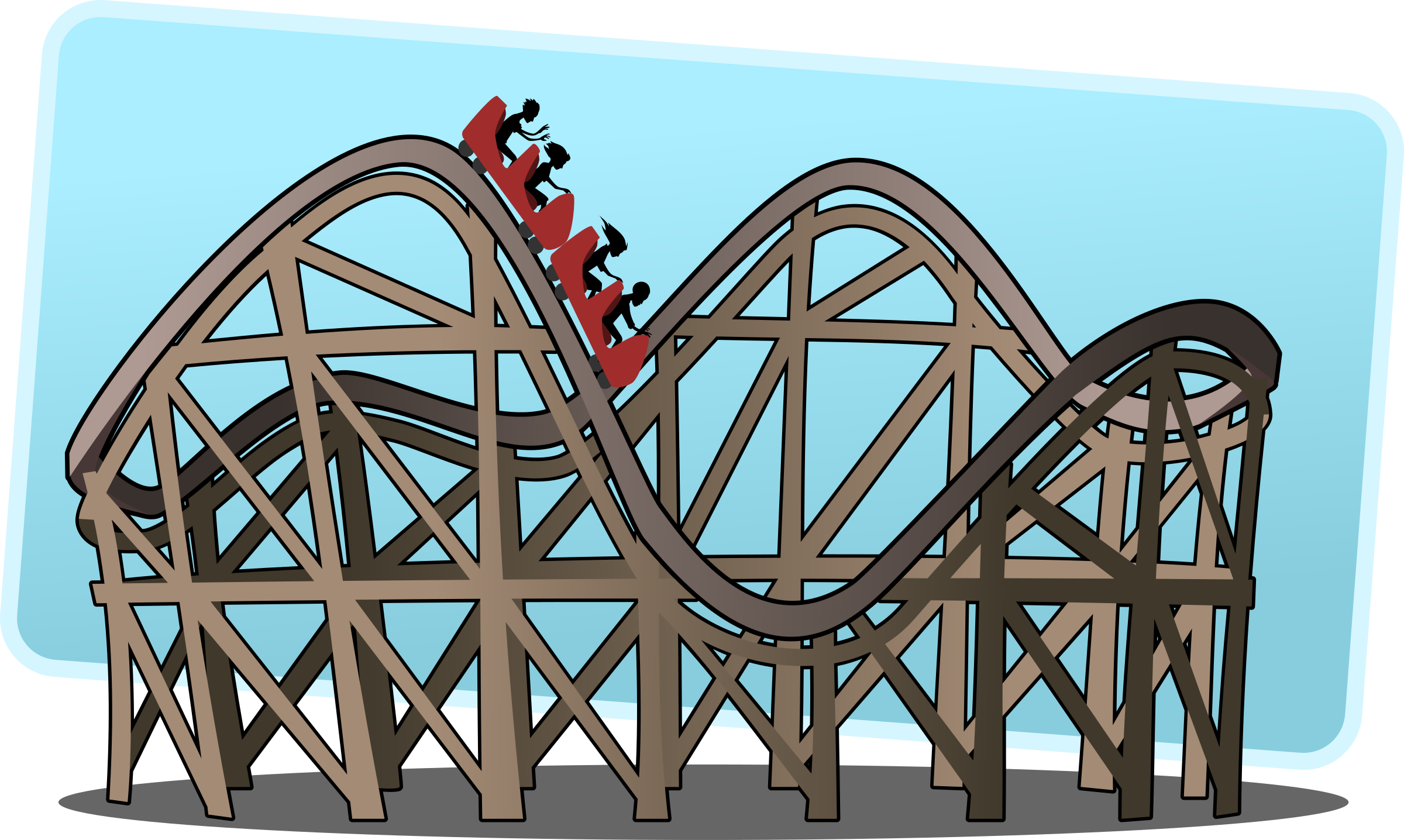 Roller coaster clipart 2 » Clipart Station.