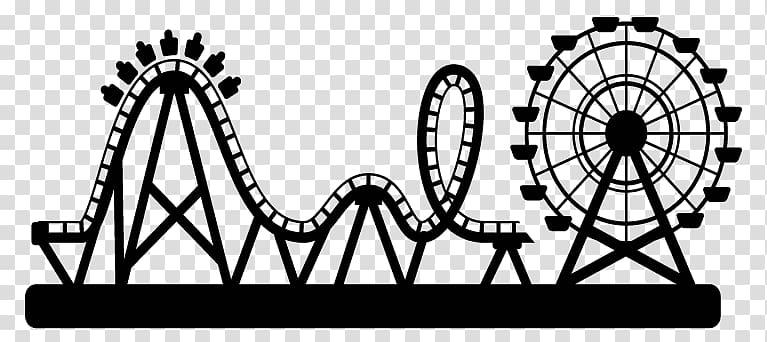 Amusement park Roller coaster Water park , park transparent.