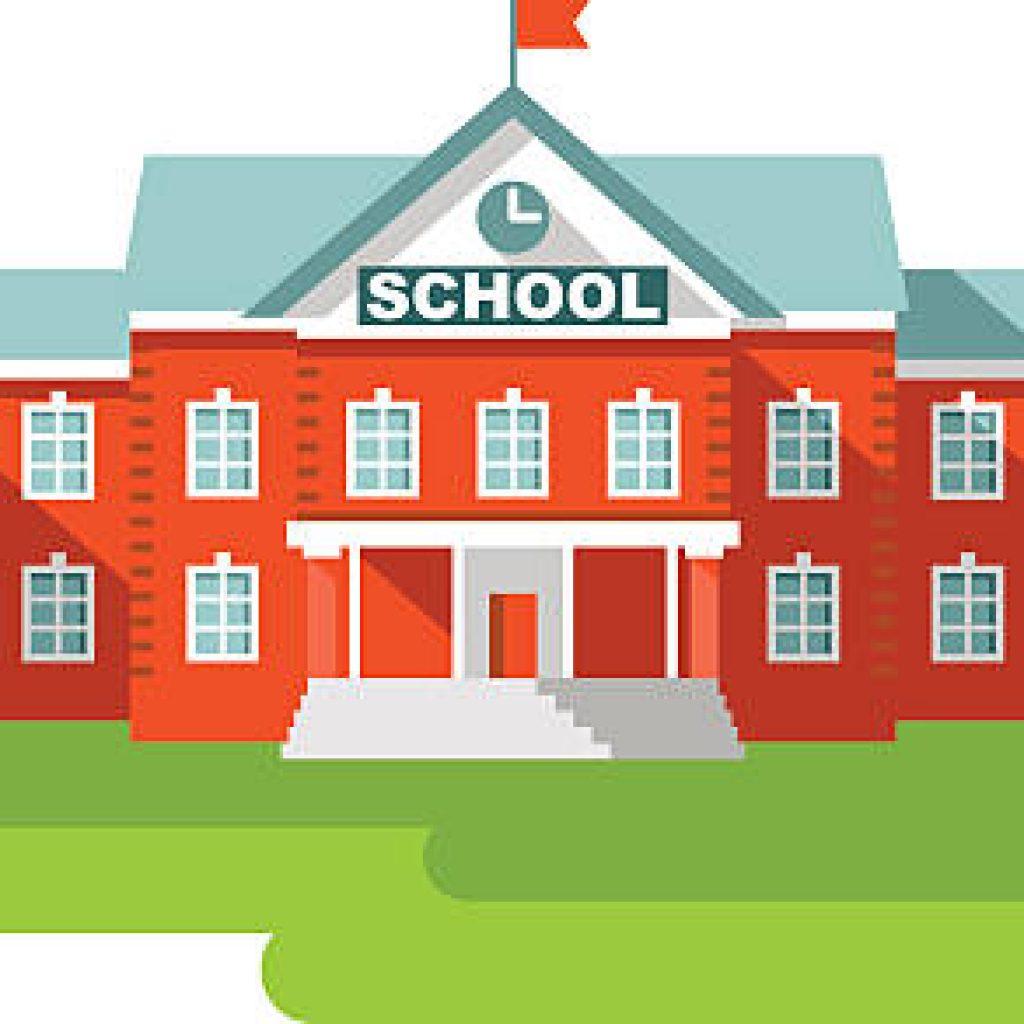 Building clipart school, Building school Transparent FREE.
