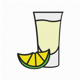 Tequila Shot clipart.