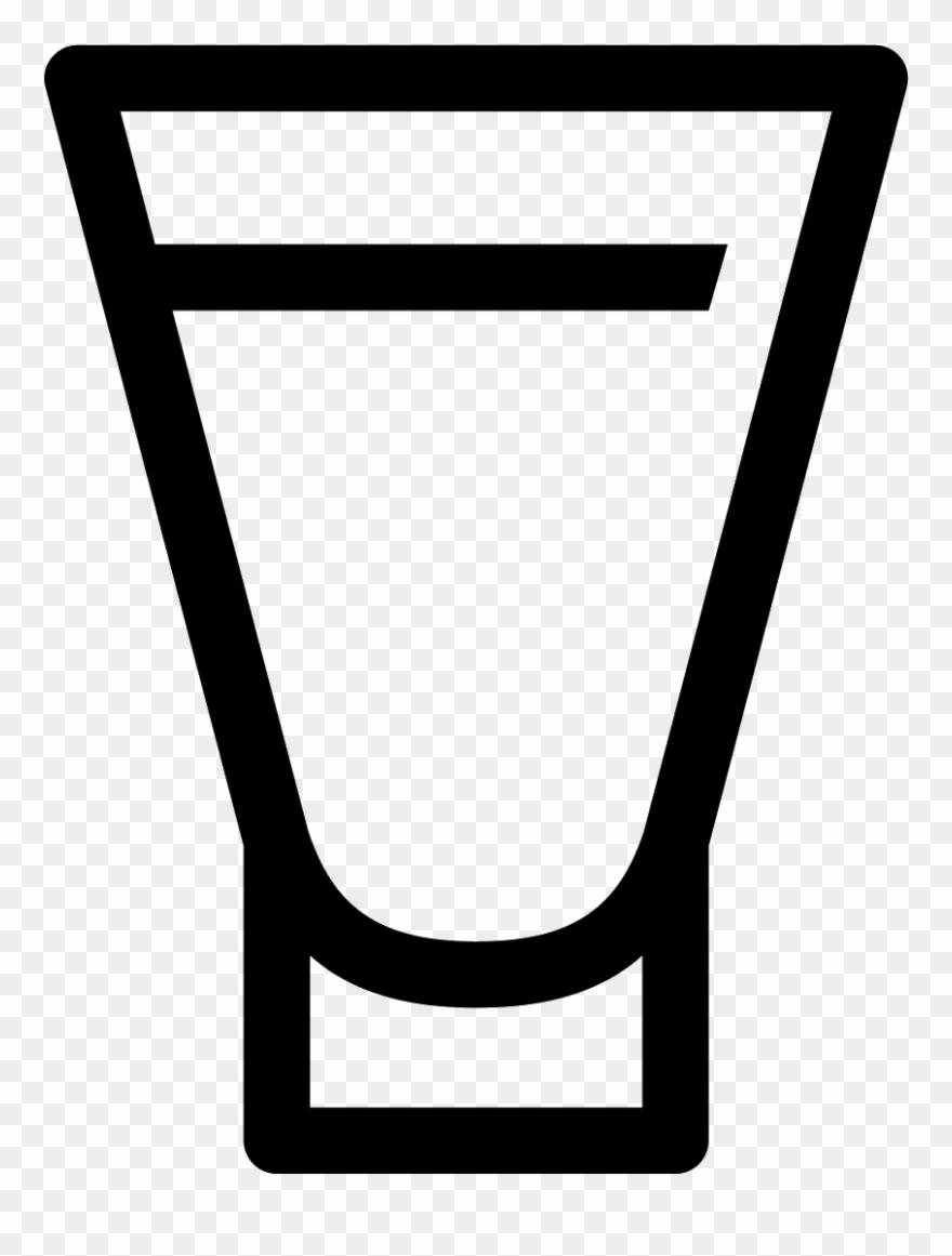 Shot De Vodka Icon.