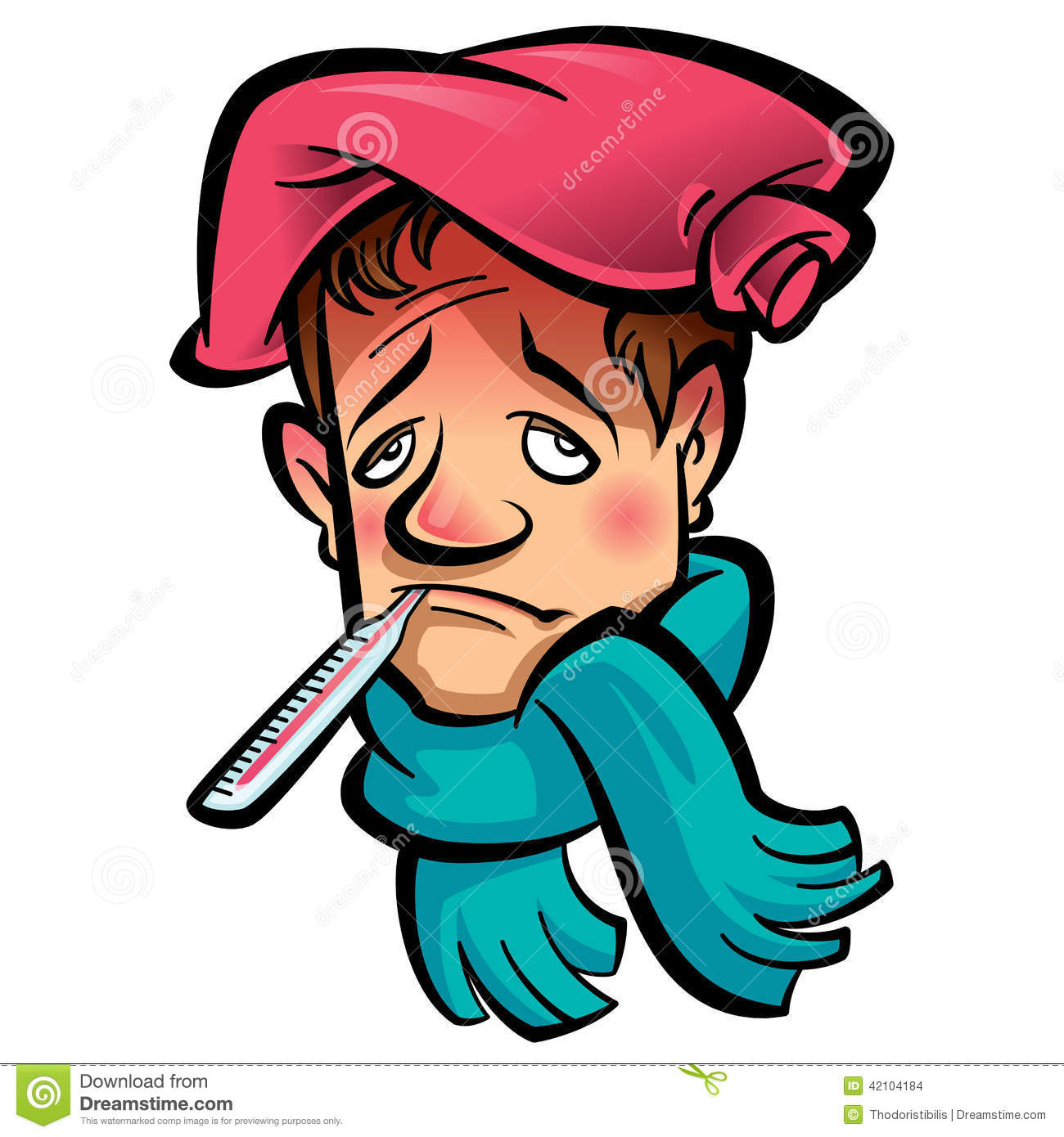 Clipart sick person 4 » Clipart Station.